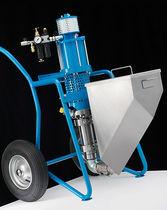 Máquina de proyección resina / para astillero naval