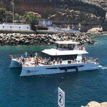 Yate a motor catamarán / de chárter / con fly