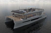 Barco de pasajeros catamarán / intraborda