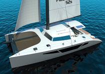 Catamarán / de crucero / con popa abierta