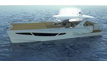 Barco de visión submarina catamarán / intraborda