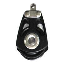 Polea con rodamiento de bolas / simple / diámetro máx. del cabo: 16 mm / para velero