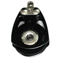 Polea con rodamiento de bolas / simple / diámetro máx. del cabo: 19 mm / para sailing-yacht