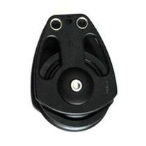 Polea de reenvío / con rodamiento de bolas / simple / diámetro máx. del cabo: 19 mm