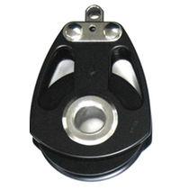 Polea con rodamiento de bolas / simple / diámetro máx. del cabo: 22 mm / para sailing-yacht