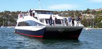 Barco de transporte logístico hidrojet intraborda / de aluminio