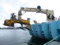Chigre para buque / para pescante / motor hidráulico / tambor simple