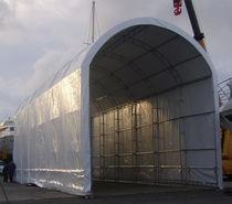 Hangar para reparación de barcos