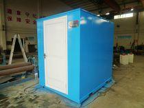 Sistema de tratamiento aguas residuales / para astillero naval / químico