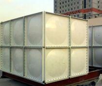 Depósito de aguas residuales / para astillero naval / de fibra de vidrio