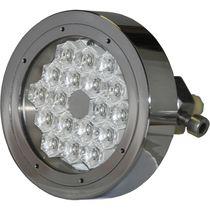 Iluminación subacuática para yate / LED / pasacascos / multicolor