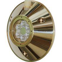 Iluminación subacuática para barco / LED / para montaje en superficie / de bronce