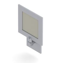 Aplique de interior / para barco / LED / de pared