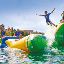 Juego acuático catapulta / inflable
