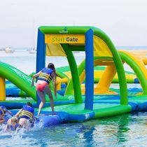 Juego acuático plataforma / inflable