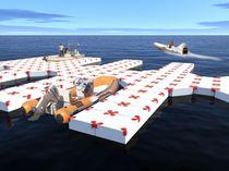 Pantalán modular / flotante / de amarra / de barco