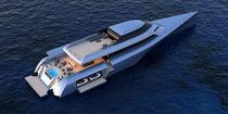 Yate a motor trimarán de motor / de crucero / con hard-top / raised pilothouse