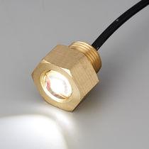 Iluminación subacuática para barco / LED / pasacascos