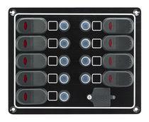 Panel eléctrico para barco / estanco / de corriente / con puerto USB