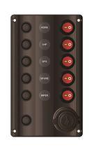 Panel eléctrico para barco / con puerto USB