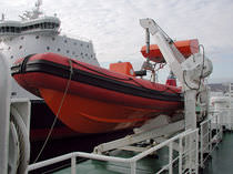 Pescante para buque / hidráulico