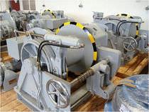 Chigre para buque / de remolque / motor eléctrico