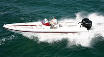 Embarcación neumática fueraborda / bimotor / semirrígida / con consola central
