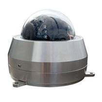 Cámara CCTV / IR / con carcasa en forma de cúpula / estanca