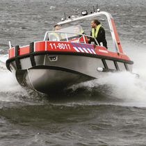 Barco de salvamento fueraborda / de aluminio