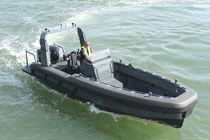 Barco de vigilancia fueraborda / de aluminio / RIB