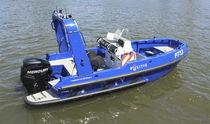 Barco de búsqueda y rescate fueraborda / remolcable