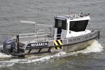 Embarcación de servicio intraborda / de aluminio
