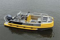 Barco de trabajo fueraborda / de aluminio