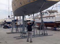 Cuna para velero / inclinación regulable