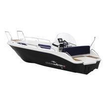 Barco open intraborda / con consola lateral / 4 personas máx. / con solárium