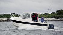 Cabin-cruiser fueraborda / con hard-top / de pesca deportiva / 8 personas máx.