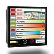 Panel de mando y control para buque / para yate / de alarma