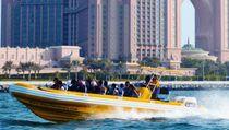Barco de pasajeros fueraborda / embarcación neumática semirrígida