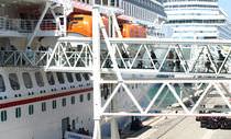 Pasarela para buque de crucero / para puerto / para ferri / para terminal