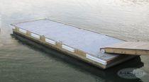 Pantalán flotante / de amarra / para puerto deportivo / de hormigón