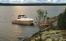 Pantalán flotante / de amarra / para puerto deportivo / de madera