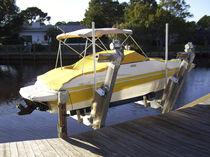Ascensor de barcos / para montar sobre pantalán / de aluminio