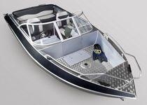Runabout fueraborda / bow-rider / de pesca deportiva / de aluminio