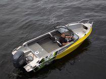 Runabout fueraborda / con doble consola / bow-rider / de pesca deportiva