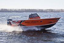 Bay boat fueraborda / con doble consola / de pesca deportiva / 5 personas máx.