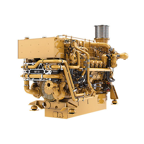 Motor para barco profesional / intraborda / diésel / turbo 3516E Caterpillar Marine Power Systems