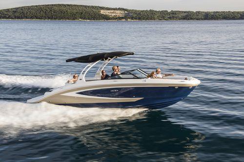 deck-boat intraborda - Sea Ray