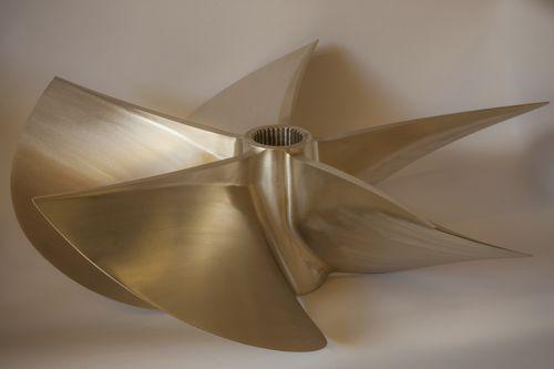 hélice para barco / surface-drive / 5 palas