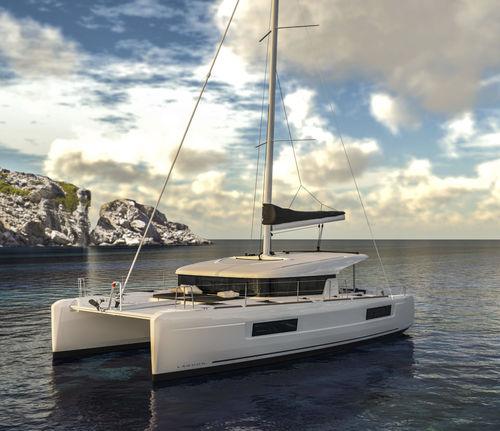 Catamarán / de crucero / con popa abierta / con 3 o 4 camarotes 40 Lagoon