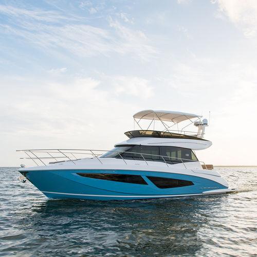 Barco cabinado intraborda / con fly 42  Regal
